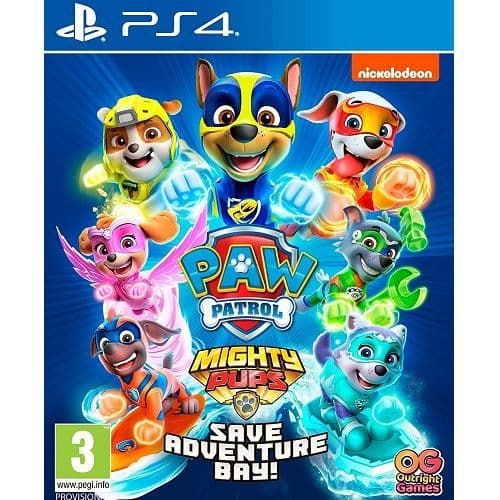 PAW Patrol Mighty Pups Save Adventure Bay PS4 Game